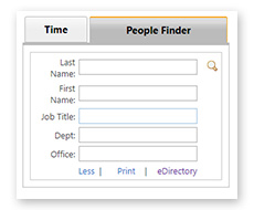 SimpleSharePoint PeopleFinder Results Display