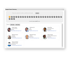 SimpleSharePoint PeopleFinder All Staff View